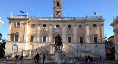 Photo of City Hall Campidoglio at Piazza Del Campidoglio, Roma, Italy