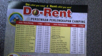 Photo of Arcade Do-rent outbond equipment at Jl. Kedawung Gg.15 No 91c, Malang, Indonesia