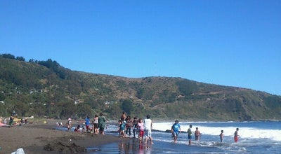 Photo of Beach Playa San Ignacio at R-t350 Niebla - Los Molinos, San Ignacio, Chile