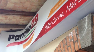 Photo of Burger Joint Parrilla 29, Hamburguesas, Tacos, Pepitos, Ensaladas at Colon Oriente #1539, Orizaba 94300, Mexico