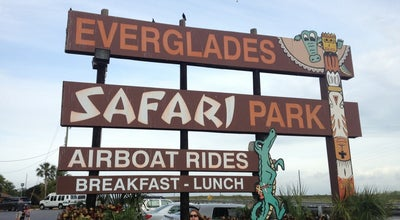 Photo of Theme Park Everglades Safari Park at 26700 Sw 8th St, Miami, FL 33194, United States