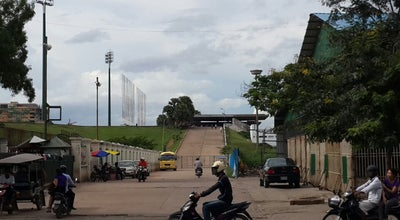 Photo of Football Stadium Phnom Penh Olympic Stadium at Cambodia