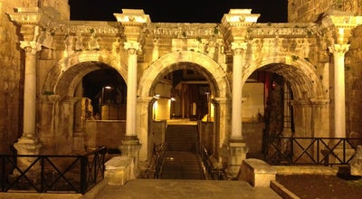 Photo of Historic Site Üçkapılar (Hadrian Kapısı) at Barbaros Mah. Atatürk Cad., Antalya 07100, Turkey