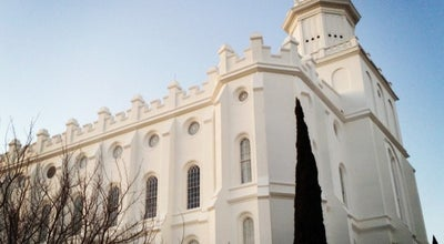 Photo of Temple St. George Utah Temple at 250 E 400 S, Saint George, UT 84770, United States