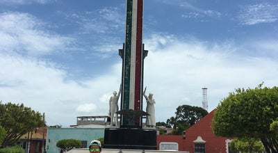 Photo of Monument / Landmark Monumento a la Bandera at Calle 28, Ciudad del Carmen, Mexico