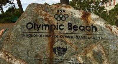 Photo of Beach Olympic Beach at 264 Beach Pl, Edmonds, WA 98020, United States