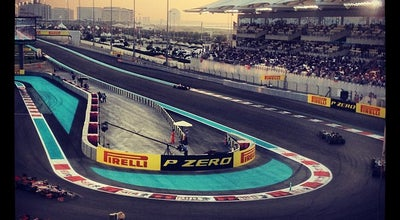 Photo of Racetrack Yas Marina Circuit at Yas Leisure Dr., Abu Dhabi 130001, United Arab Emirates