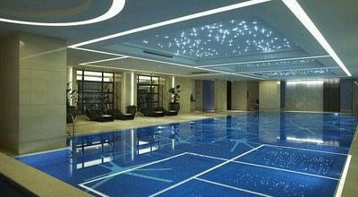 Photo of Pool Swimming Pool JW Marriott at 7f, 399 West Nanjing Rd | 南京西路399号7楼, Shanghai | 上海市, Sh 200003, China