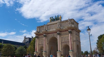 Photo of Monument / Landmark Arc de Triomphe du Carrousel at Place Du Carrousel, Paris 75001, France