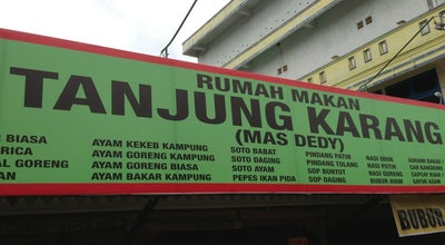 "Photo of Fried Chicken Joint RM.Deddy ""Tanjung Karang"" at Jln.sutoyo, Bengkulu, Indonesia"