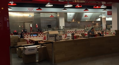 Photo of Burger Joint Five Guys Burgers & Fries at Oasis Food Court, Meadowhall, Sheffield S9 1EP, United Kingdom