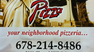 Photo of Pizza Place Johnny's New York Style Pizza at 2911 Chapel Hill Rd, Douglasville, GA 30135, United States