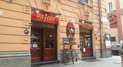 Photo of Pizza Place Zena Zuena at Via Cesarea, 78-86/r, Genova 16121, Italy