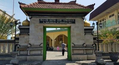 Photo of Mosque Masjid Agung Jami' Singaraja at Jl.imam Bonjol, Singaraja 81114, Indonesia