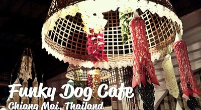 Photo of Cafe Funky Dog Cafe at Soi 6, Chiang Mai, Thailand