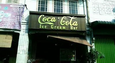 Photo of Ice Cream Shop Coca Cola Ice Cream Bar at Siantar, Indonesia