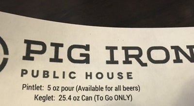 Photo of Gastropub Pig Iron Public House at 926 Sheraton Drive, Cranberry Township, PA 16046, United States