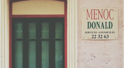 Photo of Burger Joint Menoc Donald at Calle Sagasta, Cádiz 11004, Spain