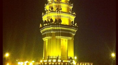 Photo of Monument / Landmark Independence Monument at Norodom And Sihanouk Blvd., Phnom Penh, Cambodia