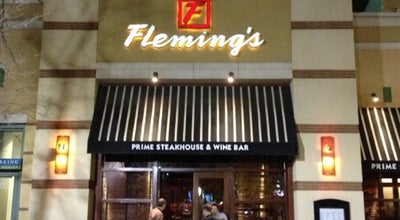 Photo of Steakhouse Fleming's Prime Steakhouse & Wine Bar at 20 South 400 West, Salt Lake City, UT 84101, United States