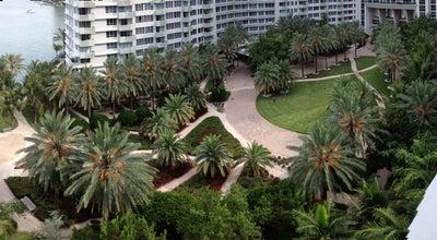 Photo of Plaza Flamingo Courtyard at Miami Beach, FL, United States