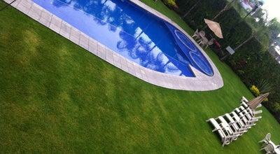 Photo of Pool Alberca Fiesta Inn at Cuernavaca, Mexico