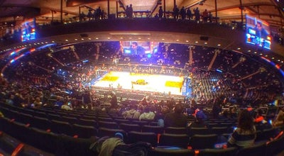 Photo of Basketball Stadium Madison Square Garden at 4 Penn Plz, New York, NY 10121, United States