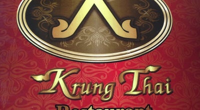 Photo of Thai Restaurant Krung Thai Restaurant at E. Dela Paz St., Marikina City, Philippines