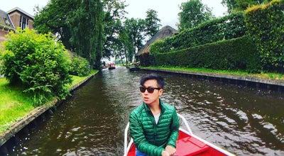Photo of River Giethoorn,OV,Netherlands. at Netherlands