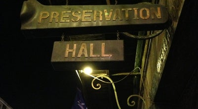 Photo of Jazz Club Preservation Hall at 726 Saint Peter St, New Orleans, LA 70116, United States