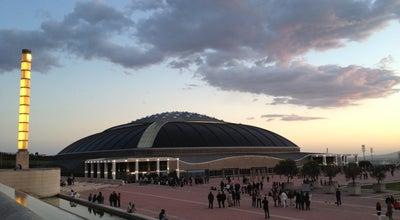Photo of Stadium Palau Sant Jordi at Passeig Olímpic, 5-7, Barcelona 08038, Spain