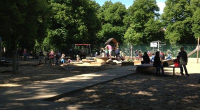 Photo of Playground Spielplatz am Humannplatz at Stahlheimer Straße 27, Berlin 10439, Germany