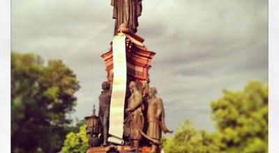 Photo of Monument / Landmark Памятник Екатерине II at Пл. Екатерины, Краснодар, Russia
