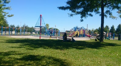 Photo of Playground Eastwood Park at 111 Burlington Street East., Hamilton, On, Canada