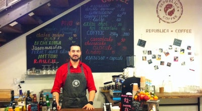 Photo of Cafe Republica Coffee at T.g.masaryka 894/28, Karlovy Vary 36001, Czech Republic