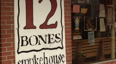 Photo of BBQ Joint 12 Bones Smokehouse at 5 Riverside Dr, Asheville, NC 28801, United States