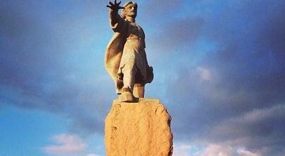 Photo of Monument / Landmark Памятник А. Дубенскому at Ул. Партизана Железняка, Красноярск, Russia