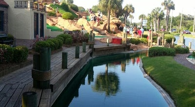 Photo of Golf Course Treasure Island Mini Golf at 4801 N Kings Hwy, Myrtle Beach, SC 29577, United States