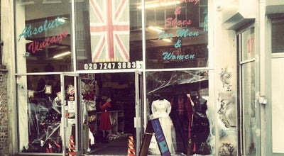 Photo of Shoe Store Absolute Vintage at 15 Hanbury St, London E1 6QR, United Kingdom