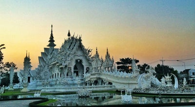 Photo of Buddhist Temple วัดร่องขุ่น (Wat Rong Khun) at Hwy No 1208, Mueang Chiang Rai 57000, Thailand