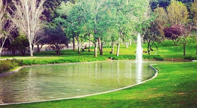 Photo of Park Jardins de Mossèn Cinto Verdaguer at Passeig Dels Tarongers, Barcelona 08038, Spain