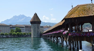Photo of Historic Site Wasserturm at Bahnhofstrasse, Luzern, Switzerland