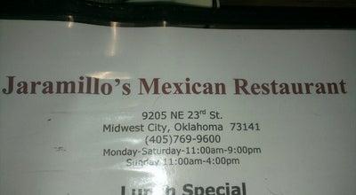 Photo of Mexican Restaurant Jaramillo's Mexican Restaurant at 9205 Ne 23rd St, Oklahoma City, OK 73141, United States