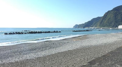 Photo of Beach 用宗海岸 at 用宗, Shizuoka, Japan