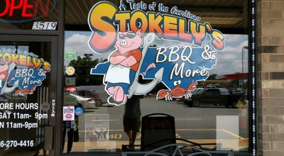 Photo of BBQ Joint Stokely's Bbq & More at 3519 S Church St, Burlington, NC 27215, United States