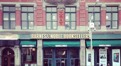Photo of Bookstore Barnes & Noble at 33 E 17th St, New York, NY 10003, United States