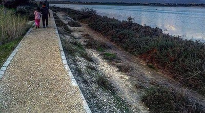 Photo of Trail Larnaca Salt Lake Walking Path at Larnaca Salt Lake, Larnaka, Cyprus