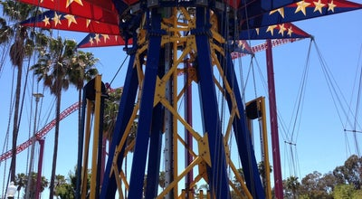 Photo of Theme Park SkyScreamer at Six Flags Discovery Kingdom, Vallejo, CA 94589, United States