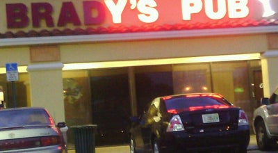 Photo of Bar Brady's Irish Pub at 988 S State Road 7, Margate, FL 33068, United States