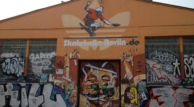Photo of Skate Park Skatehalle Berlin at Revaler Str. 99, Berlin 10245, Germany